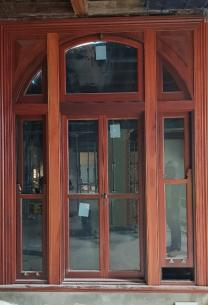 Custom timber window by Cedar West