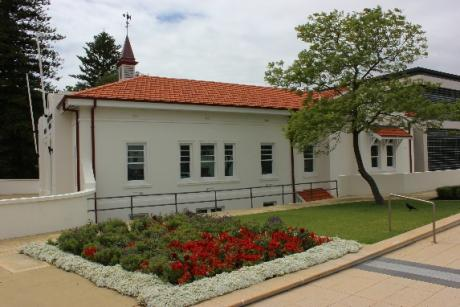Claremont library building after refurbishment