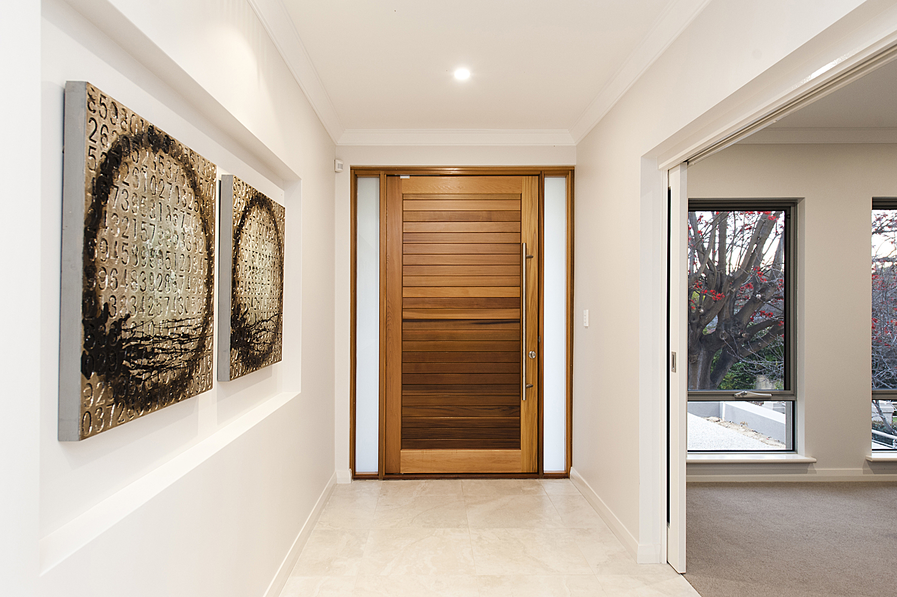 Kingston tongue-and-groove timber door