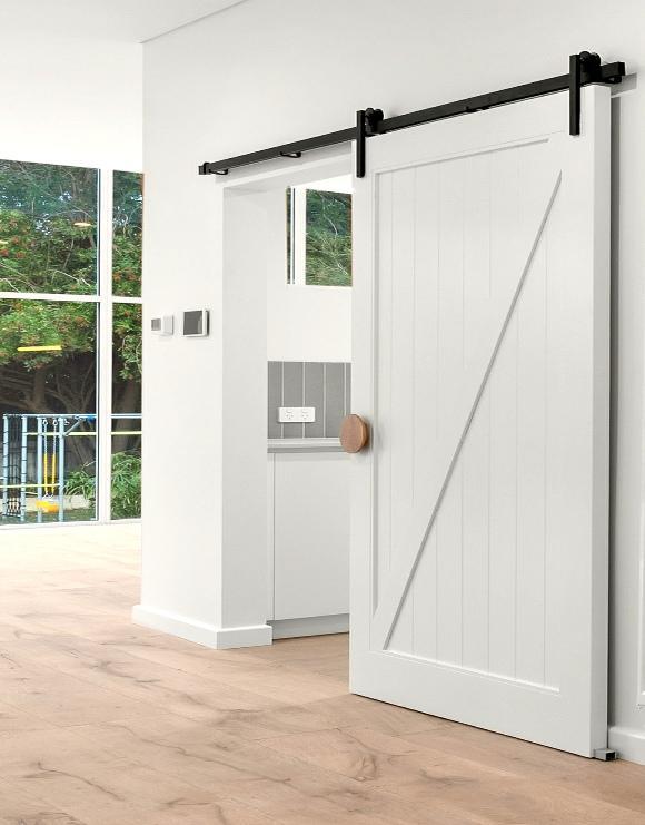 Surrey Barn Door with Z Brace