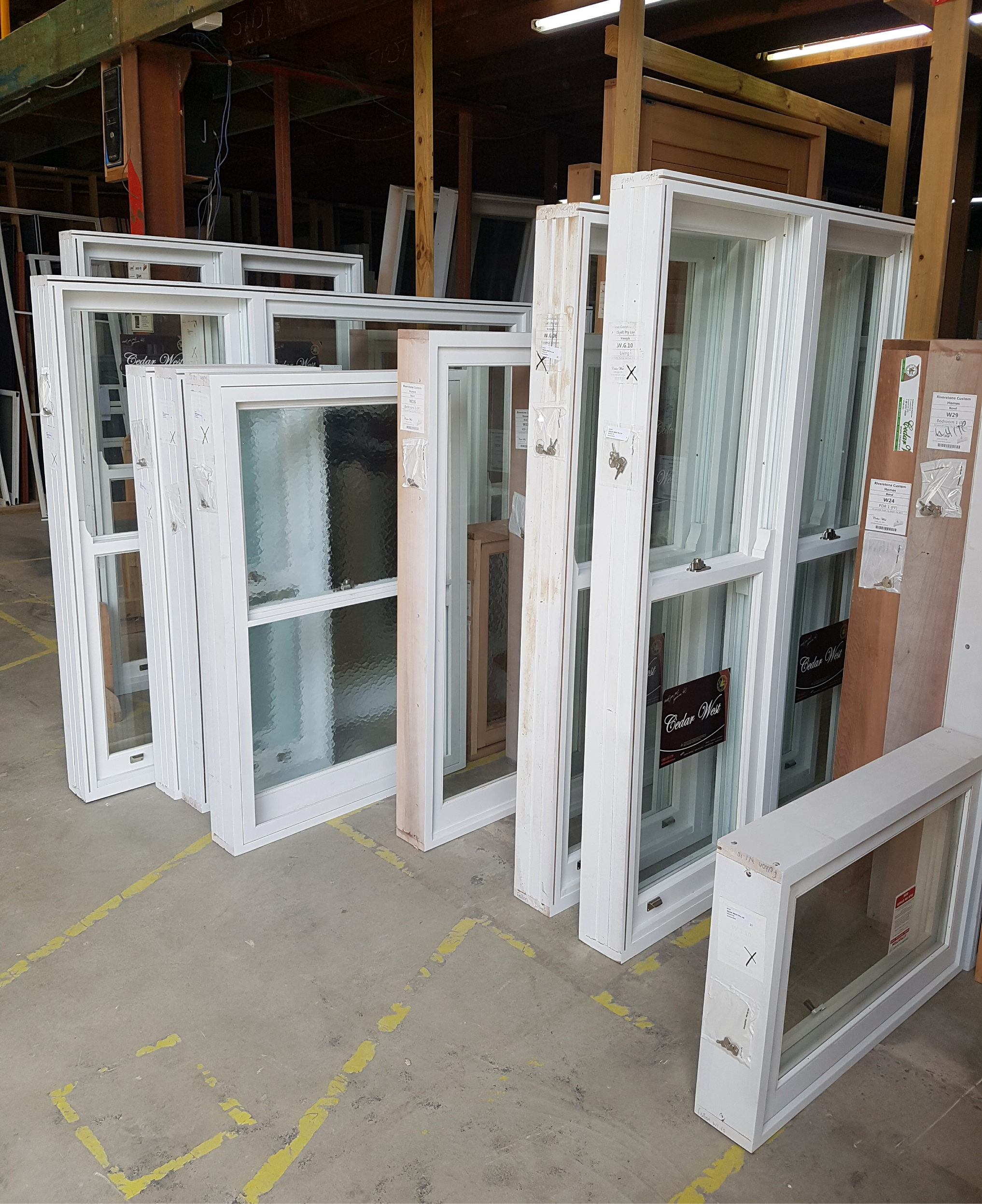 Window Prefitting Service Available