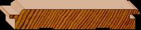 Cedar Lining - Secret Nail - Raw 84 x 14mm