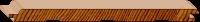 Cedar Lining - Secret Nail - Raw 133 x 9mm