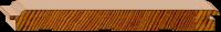 Cedar Lining - Secret Nail - Raw 133 x 14mm