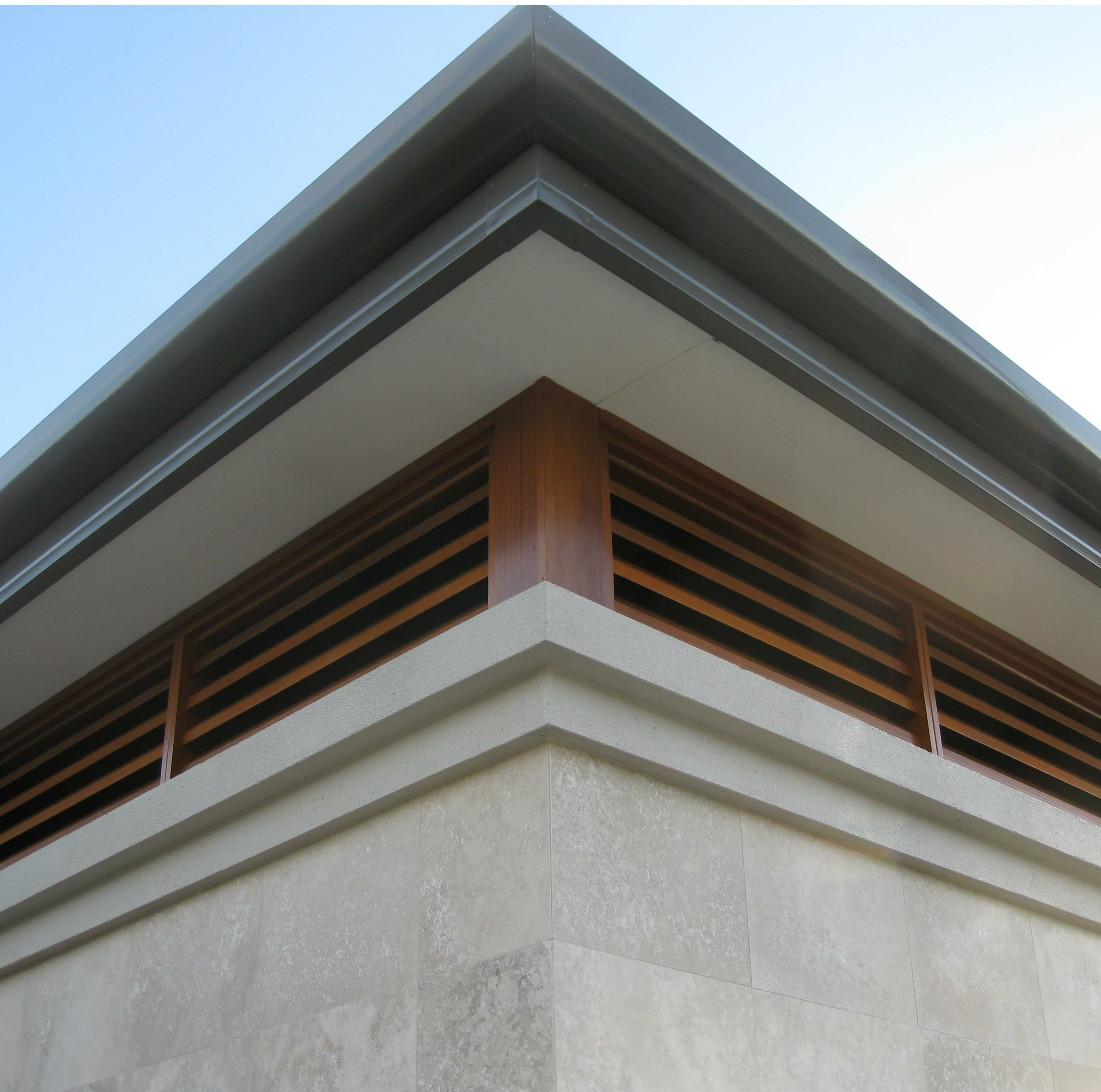 Timber Turret Louvres