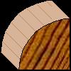 Prefinished Cedar Trim - 18 x 18 Quad