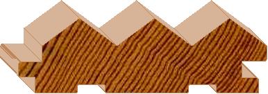 Ridgestyle - 81mm Lining/Cladding